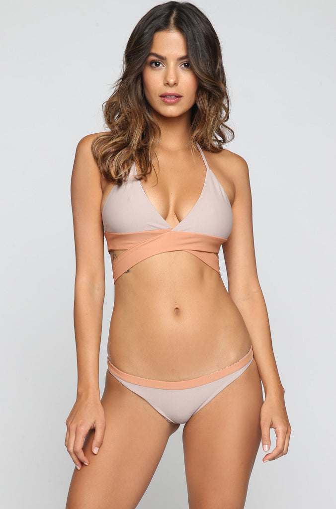 ACACIA SUMMER Manoa Bikini Bottom in Driftwood/Topless|ISHINE365 - 4