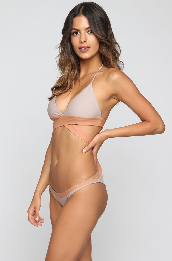ACACIA SUMMER Manoa Bikini Bottom in Driftwood/Topless|ISHINE365 - 3