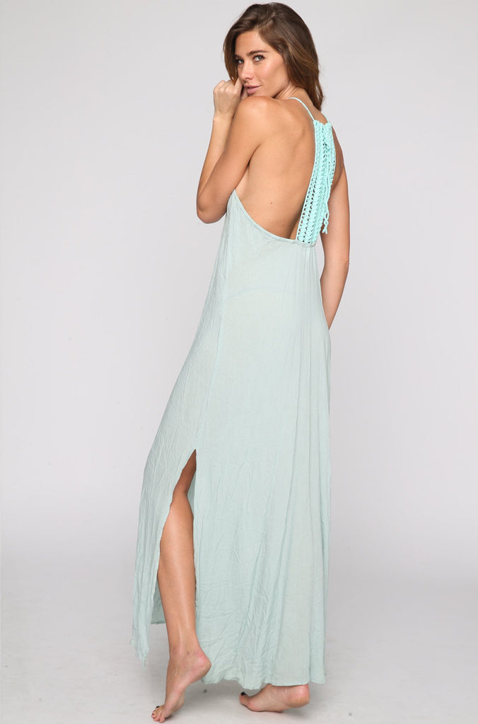 Makawao Maxi Dress in Tidepool