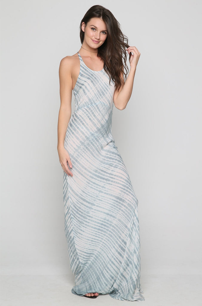 Maliko Dress in Shibori