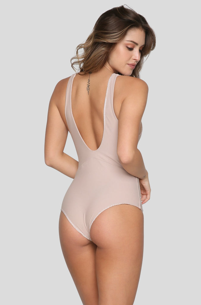 Mauka One Piece in Clay