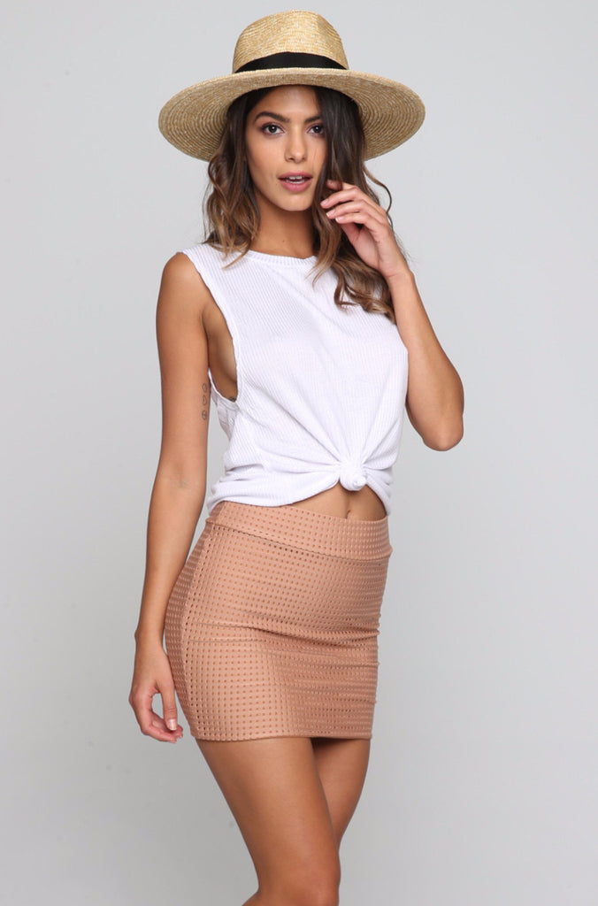 ACACIA Paia Fitted Skirt in Topless|ISHINE365 - 4