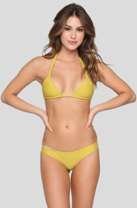 Makai Bikini Bottom in Pineapple