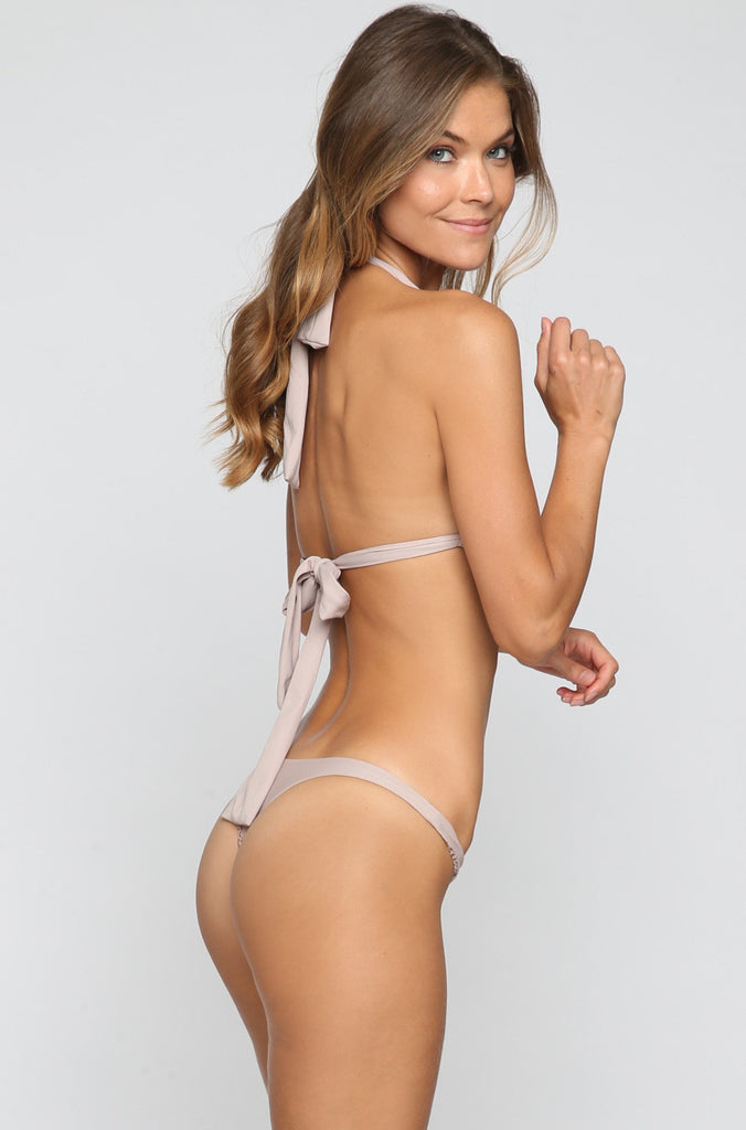 ACACIA SUMMER Pipeline Bikini Bottom in Driftwood|ISHINE365 - 4