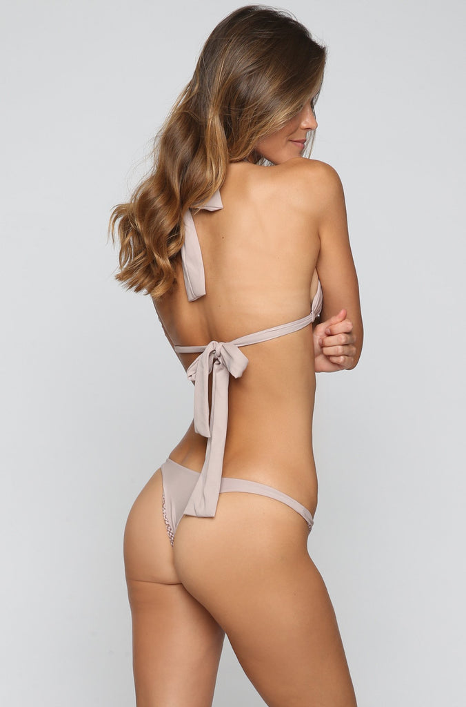 ACACIA SUMMER Pipeline Bikini Bottom in Driftwood|ISHINE365 - 2