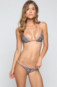 ACACIA SUMMER Manoa Bikini Bottom in Snow Leopard/Topless|ISHINE365 - 2