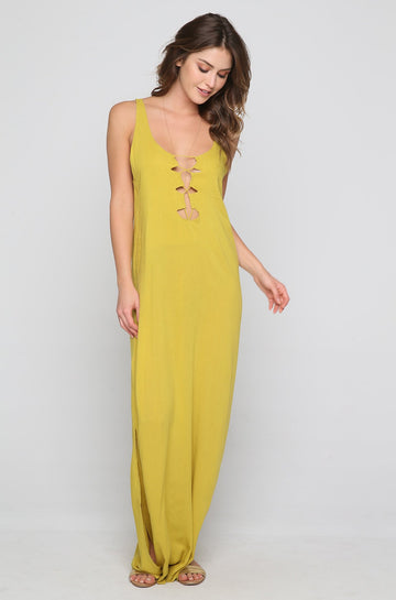 Sardina Dress in Pineapple