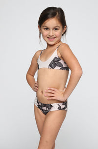 ACACIA RESORT Honey Pupukea / Mentawai Bikini in Black Elephant/Foam (Child Bikini)|ISHINE365 - 3
