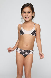 ACACIA RESORT Honey Pupukea / Mentawai Bikini in Black Elephant/Foam (Child Bikini)|ISHINE365 - 1