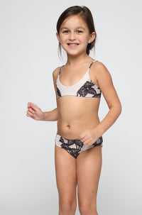 ACACIA RESORT Honey Pupukea / Mentawai Bikini in Black Elephant/Foam (Child Bikini)|ISHINE365 - 2