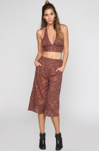 Amuse Society Edie Pant in Moccasin|ISHINE365 - 5