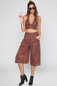 Amuse Society Edie Pant in Moccasin|ISHINE365 - 4
