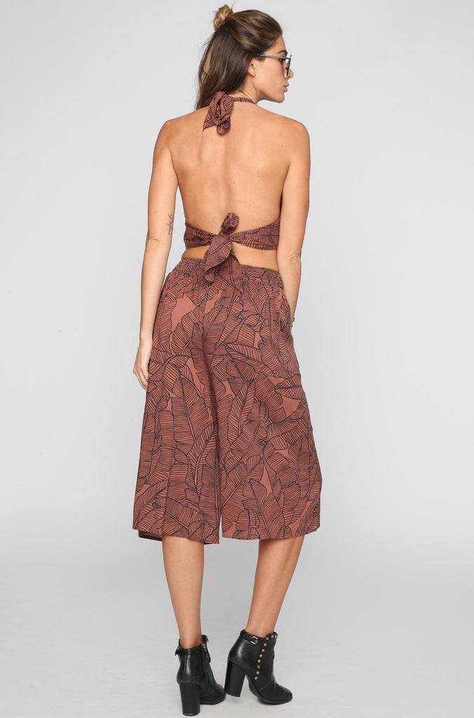 Amuse Society Edie Pant in Moccasin|ISHINE365 - 2