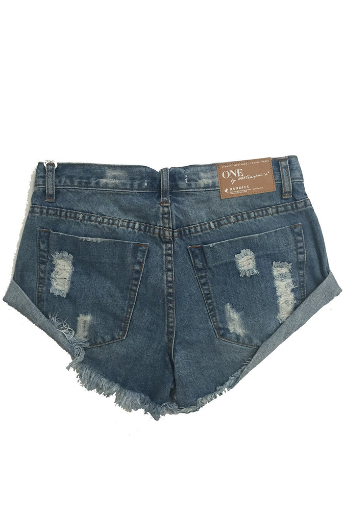 One Teaspoon Bandits Shorts in Ford|ISHINE365 - 6