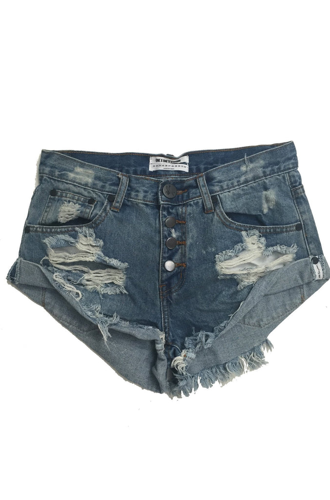 One Teaspoon Bandits Shorts in Ford|ISHINE365 - 2