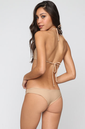 Strappy Cheeky Bottom in Sand