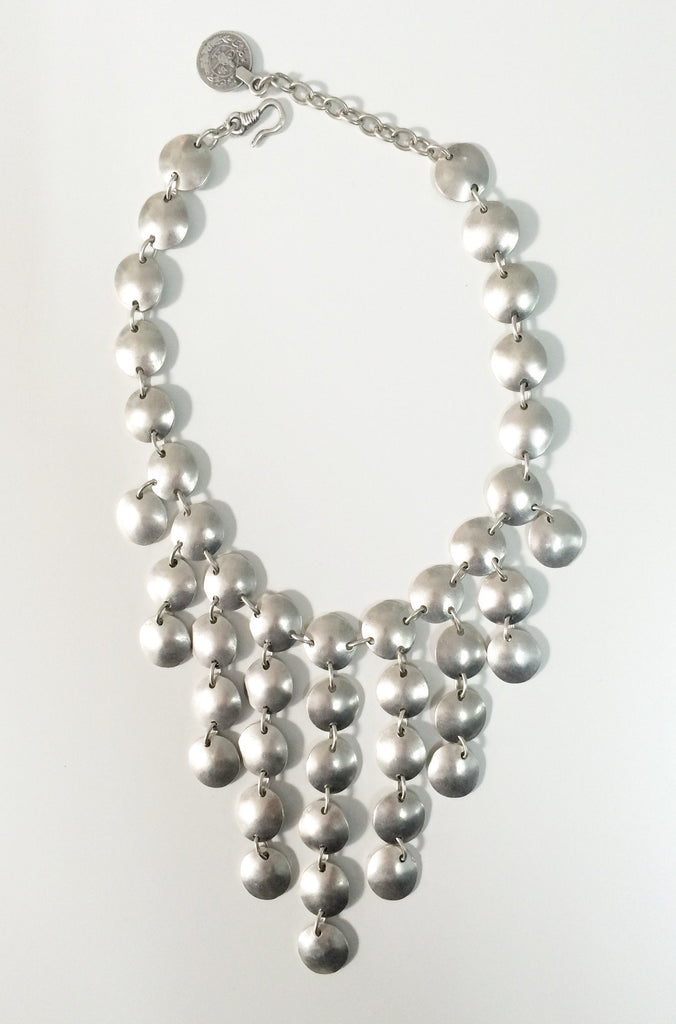 Natalie B Jewelry Tears of Joy Necklace in Silver|ISHINE365 - 1