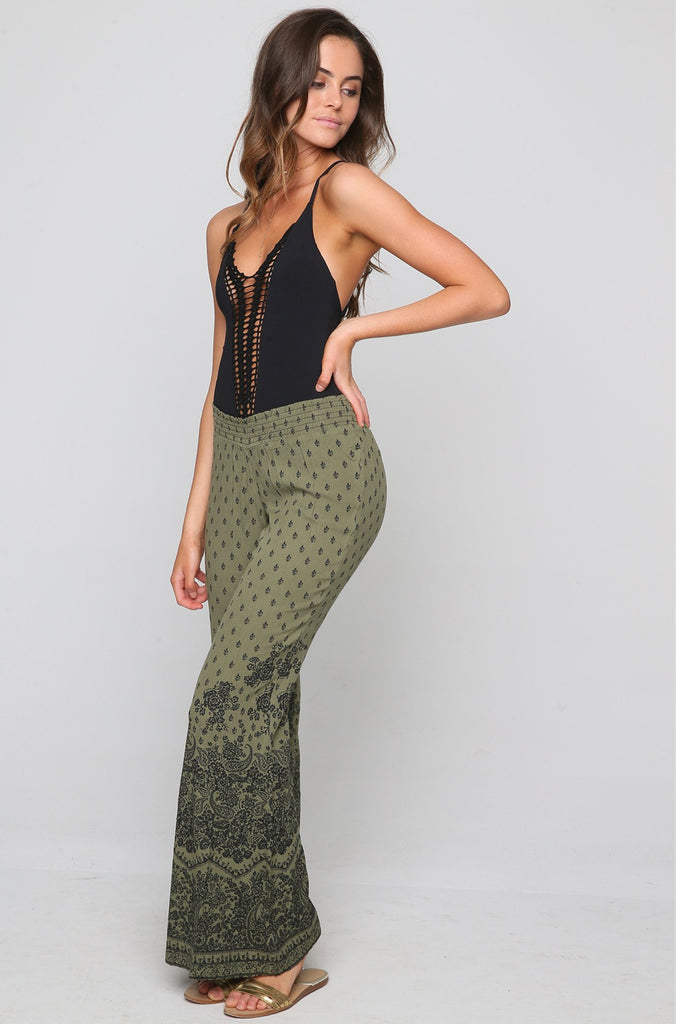Journey On Pants in Seagrass
