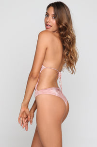 Desert Mirage One Piece in Blush Tie Dye