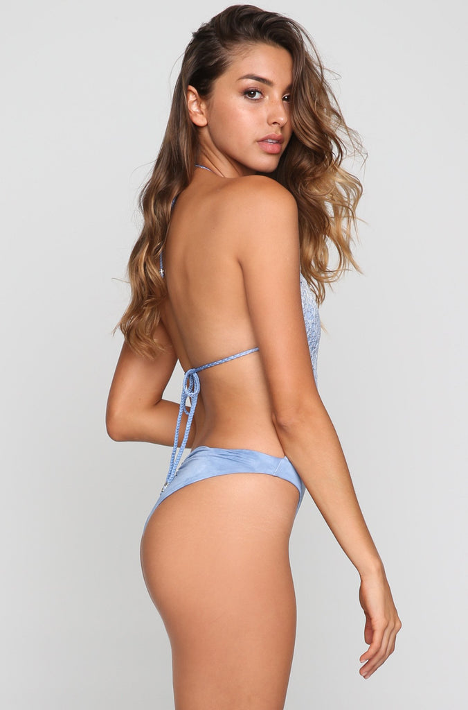 Desert Mirage One Piece in Denim Tie Dye