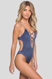 Seaside One Piece in Pac Wash