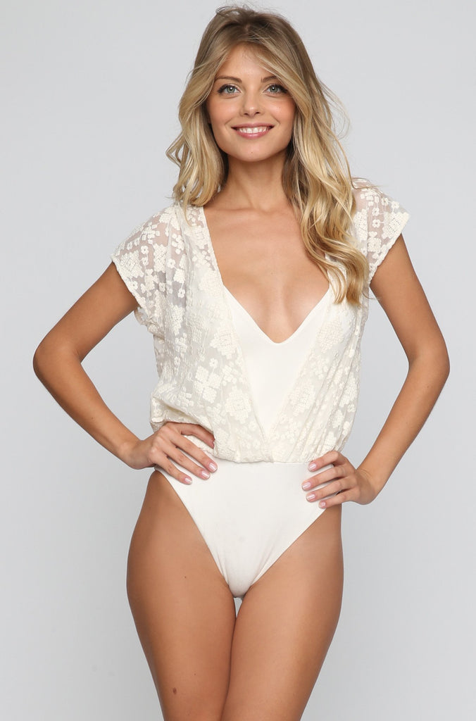 Tribal One Piece in White Sands