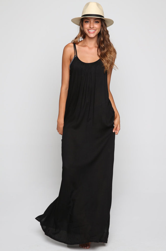 Ladder Back Maxi Dress