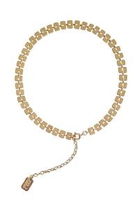Deco Choker in Gold