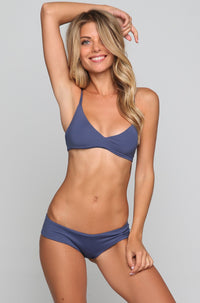 Dylan the Desperado Bikini Top in Cobalt