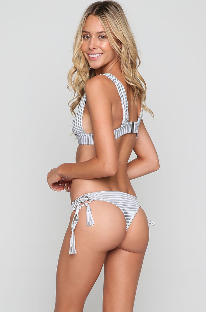 Buzios Bikini Top in Stripe