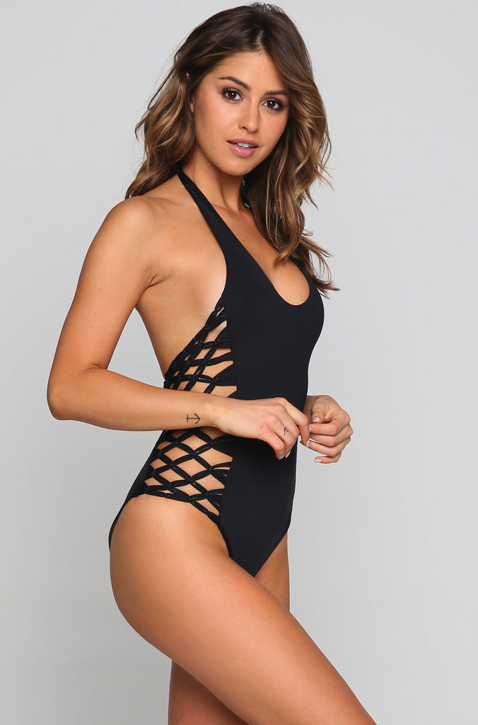 Camilla One Piece in Black
