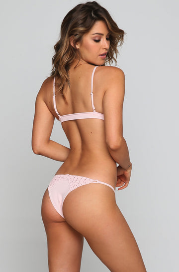 Stella Bikini Bottom in Blush