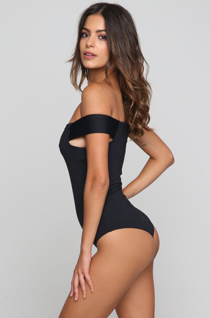 Brooklyn One Piece in Black