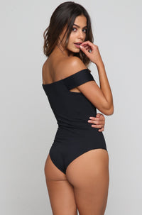 Frankies Bikinis 2016 Brooklyn One Piece in Black|ISHINE365 - 4