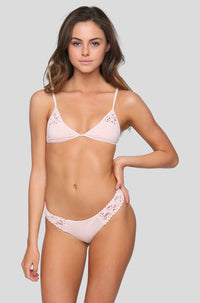 Tanner Bikini Bottom in Blush