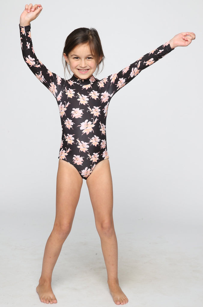 ACACIA RESORT Ehukai Honey Body Suit in Aloha (Child Bikini)|ISHINE365 - 1