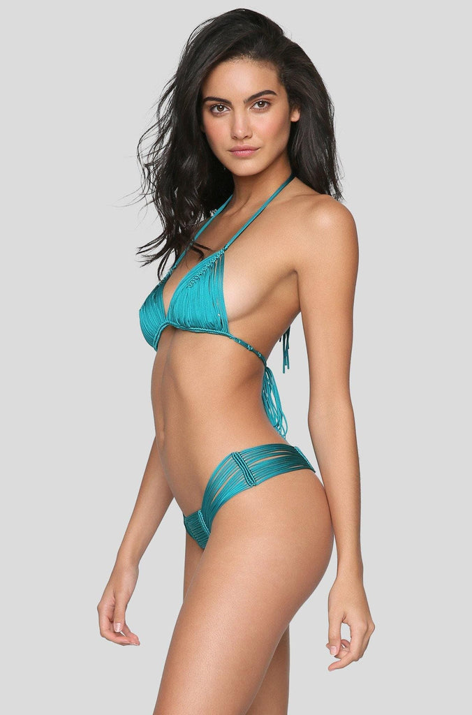 Andrea Bikini Top in Emerald