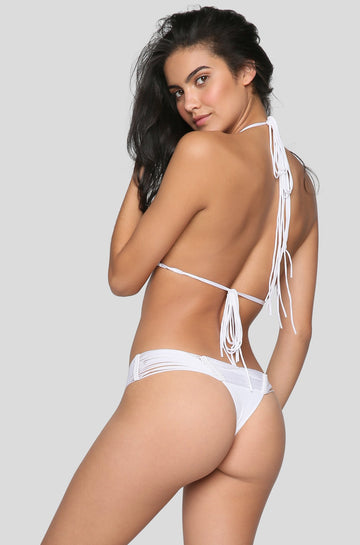 Echo Bikini Bottom in White