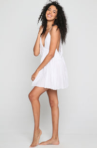 Dream Mini Dress in White