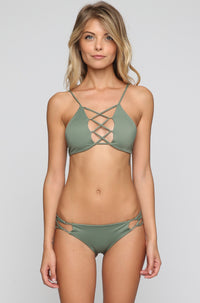 INDAH 2016 Sasa Bikini Bottom in Army Green|ISHINE365 - 4