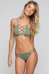 INDAH 2016 Sasa Bikini Bottom in Army Green|ISHINE365 - 2