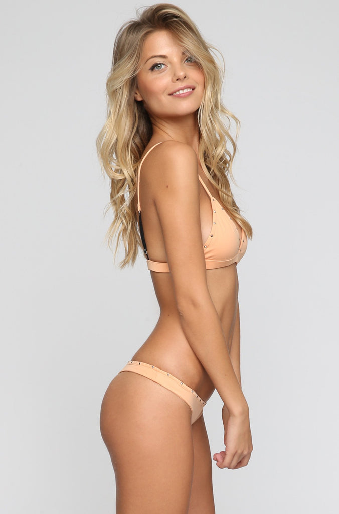 INDAH 2016 Mandy Bikini Bottom in Light Peach|ISHINE365 - 4