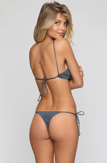 INDAH 2016 Peach Bikini Bottom in Indigo/Slate|ISHINE365 - 1