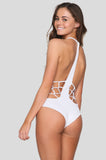 Pagoda One Piece in White