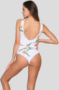 Rainey One Piece in Lush Lily