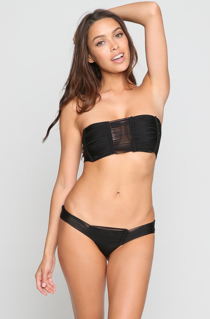 Echo Bikini Bottom in Black