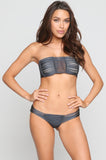 Echo Bikini Bottom in Slate
