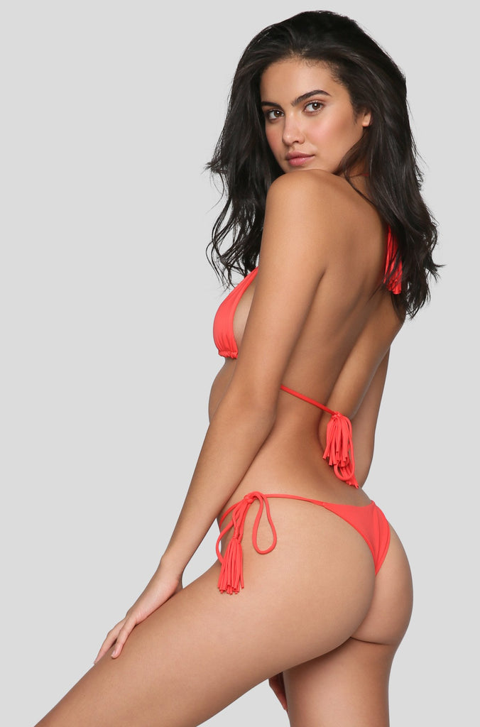 Tom Bikini Top in Chilli Pepper