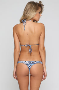 INDAH 2016 Mandy Bikini Bottom in Blue Feather|ISHINE365 - 4