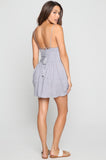Vivid Mini Dress in Dusk Grey